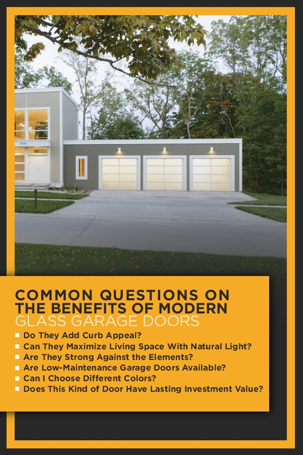 Benefits of Modern Glass Garage Doors