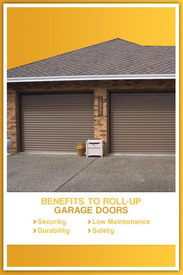 Benefits to Roll-up Garage Doors