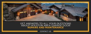 Garage Door Repairs And Maintenance