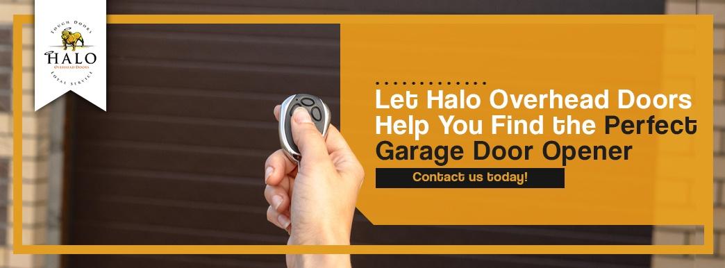 Let Halo Overhead Doors Help