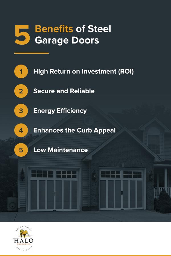5 Benefits of Steel Garage Doors