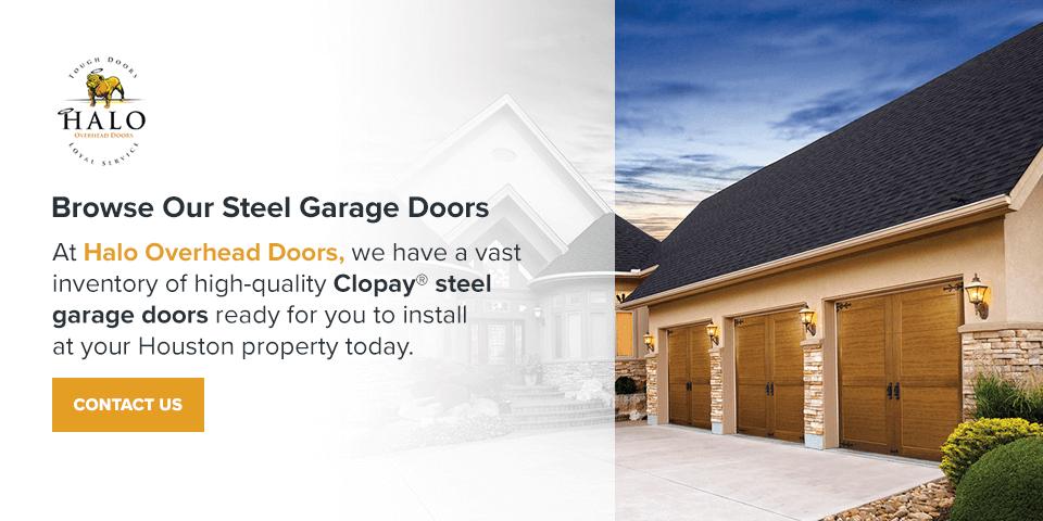 Browse Our Steel Garage Doors