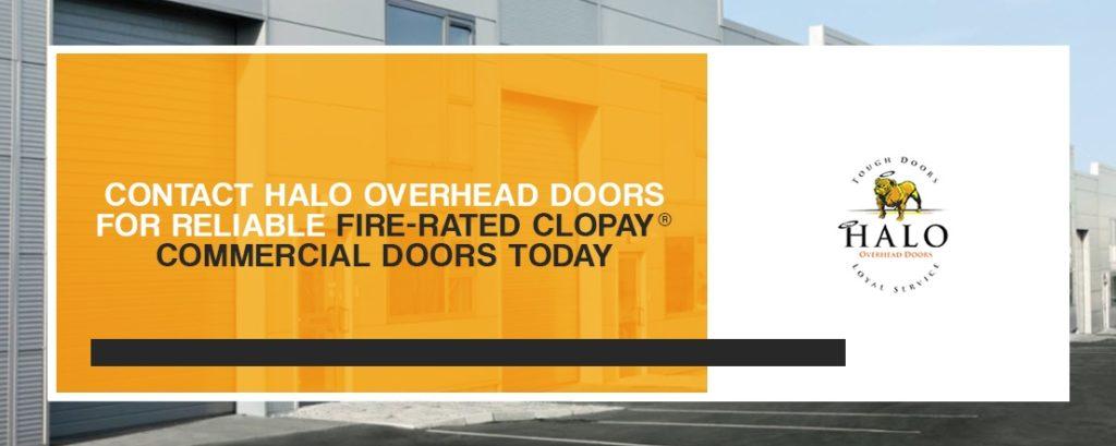 Contact Halo Overhead Doors