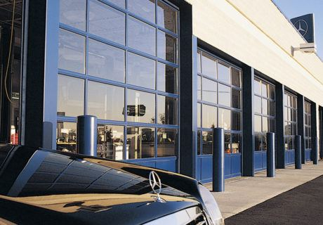 Commercial Glass Garage Doors overhead doors