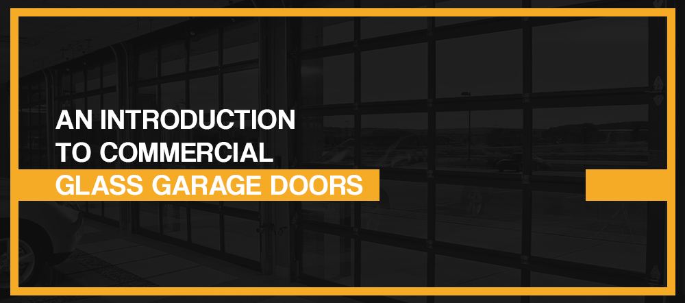 Introduction to Commercial Glass Garage Doors