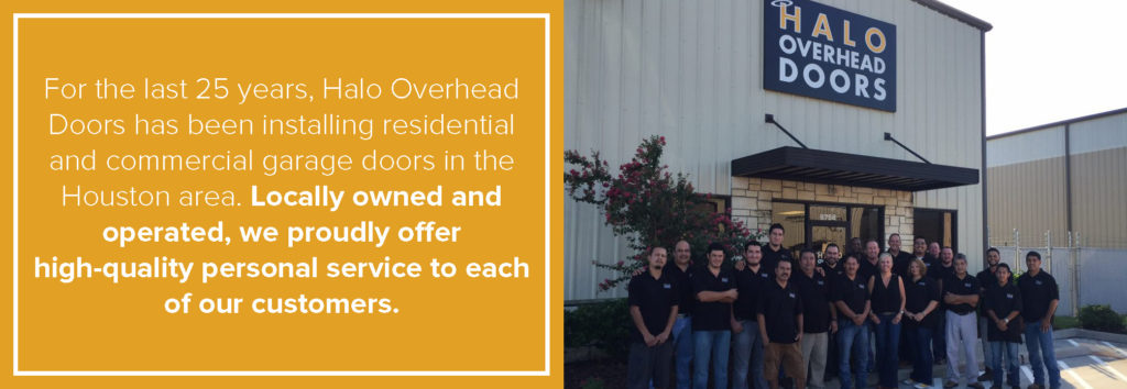 locally owned overhead door company houston tx