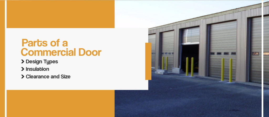parts of commercial overhead doors houston