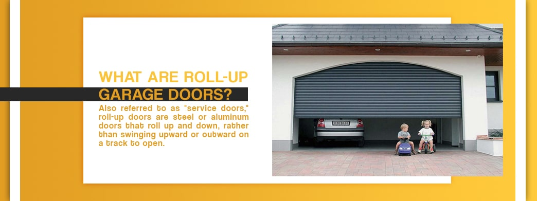 What Are Roll-Up Garage Doors