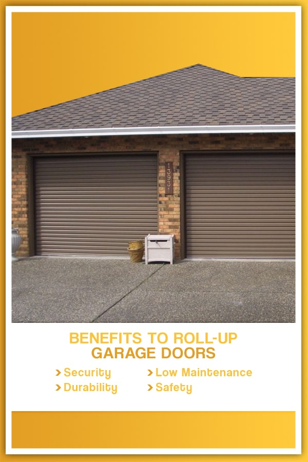 Benefits to Roll-up Garage Doors