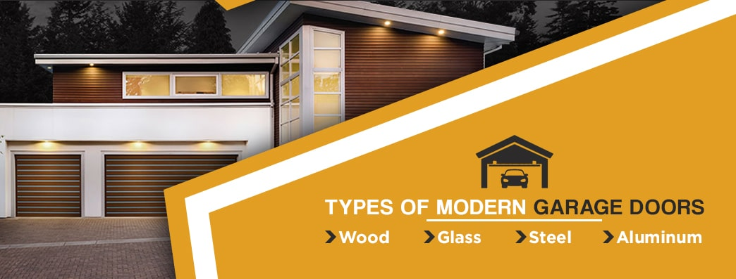Types of Modern Garage Doors