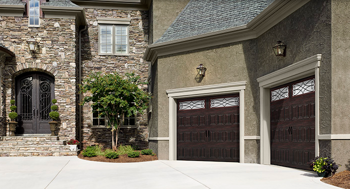 AMARR® OAK SUMMIT® Barn Garage Doors garage doors