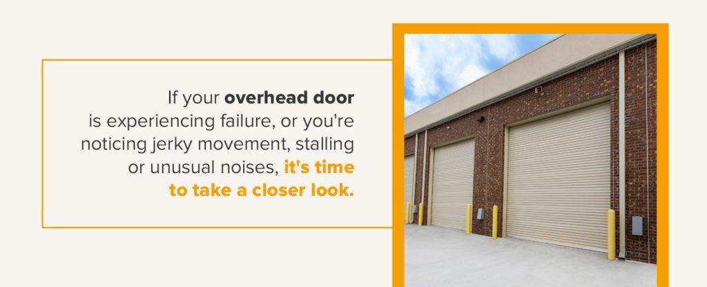 Common Commercial Overhead Door Repair